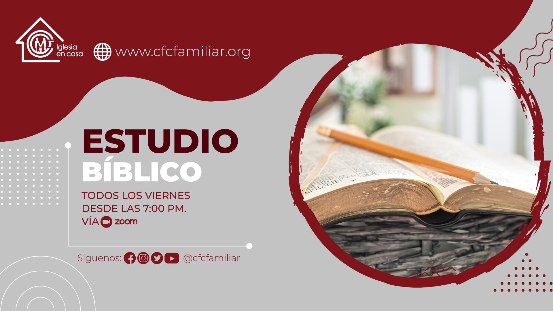 ESTUDIO BIBLICO 2021