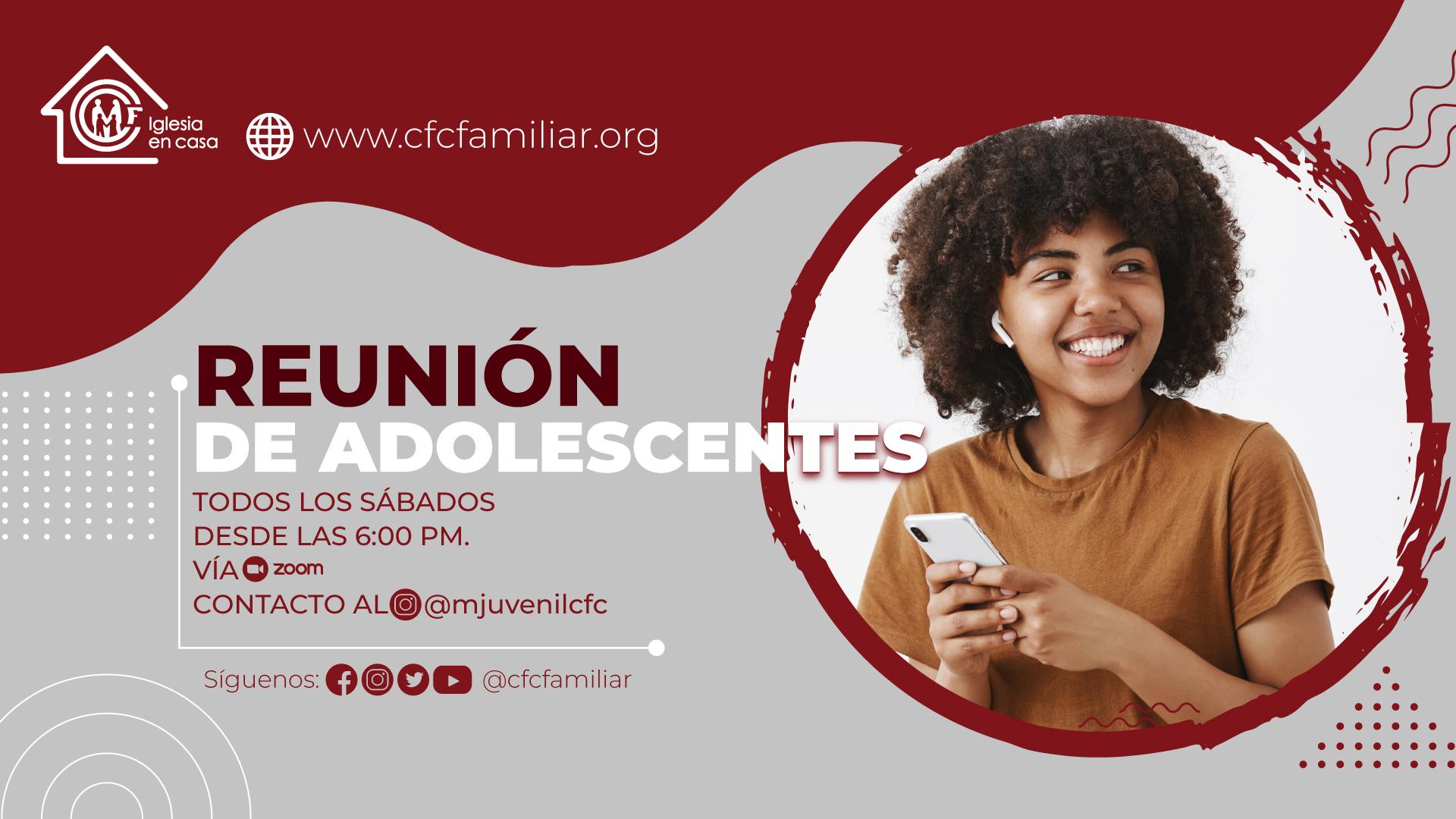 REUNIONES DE ADOLESCENTES 2021