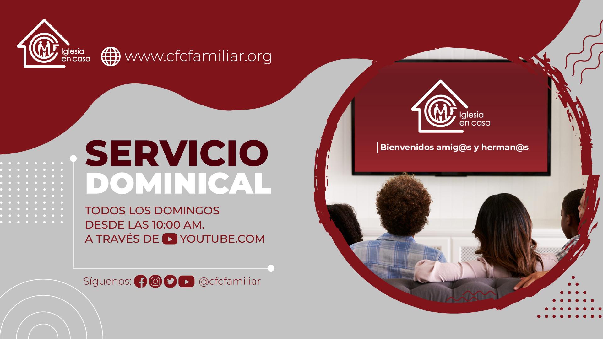 SERVICIO DOMINICAL 2021
